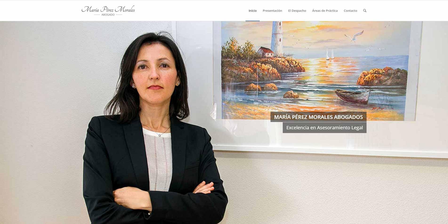 Web Maria Perez Morales Abogado